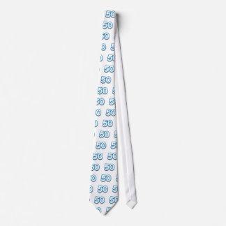 Cumpleaños o aniversario de 50 años - añada el tex corbata