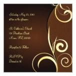 Cumpleaños o aniversario especial invitación 13,3 cm x 13,3cm