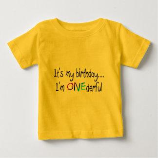 Cumpleaños (ONEderful) Playeras