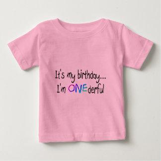 Cumpleaños (ONEderful) Remera