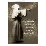 Cumpleaños pagano tarjeta de felicitación
