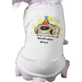 Cumpleaños Pekingese (demostración cortada) Ropa De Mascota