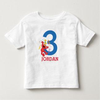 Cumpleaños personalizado de Elmo Camisas