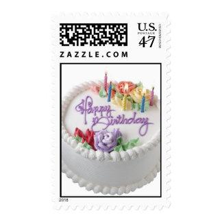 cumpleaños sello