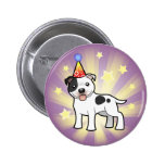 Cumpleaños Staffordshire bull terrier Pin