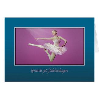 Cumpleaños, sueco, saltando a la bailarina