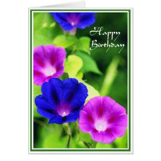 Cumpleaños - tarjeta de felicitación de las correh
