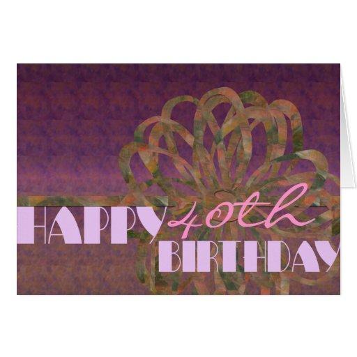Cumpleaños Tarjetón