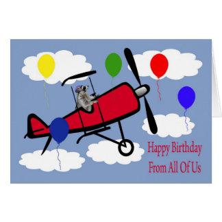 Cumpleaños todos nosotros tarjeta de felicitación
