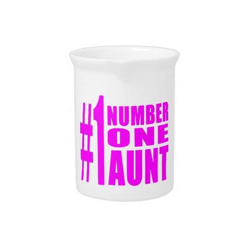 Cumpleaños y navidad de las tías #1: Tía del númer Jarras Para Bebida