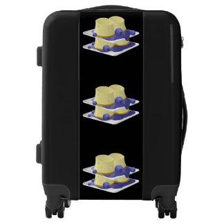 Cumplido de la comida de la interferencia maletas