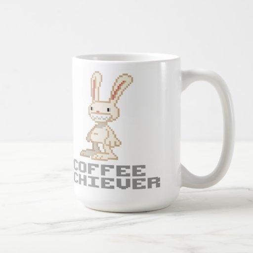 Cumplidor del café taza
