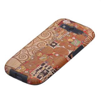Cumplimiento de Gustavo Klimt, arte Nouveau del Galaxy S3 Carcasa