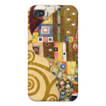 Cumplimiento de Klimt iPhone 4/4S Carcasas