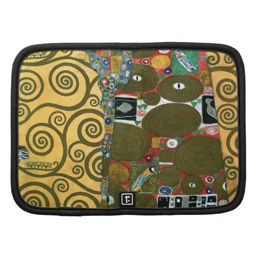 Cumplimiento (el abrazo) por Gustavo Klimt Organizador