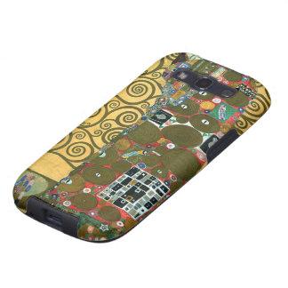 Cumplimiento el abrazo por Gustavo Klimt Samsung Galaxy S3 Carcasas