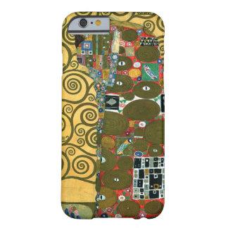 Cumplimiento (el abrazo) por Gustavo Klimt Funda De iPhone 6 Barely There