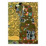 Cumplimiento (el abrazo) por Gustavo Klimt Tarjetas