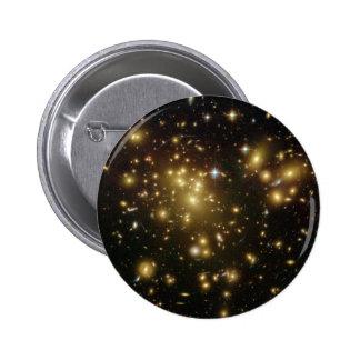Cúmulo de estrellas 2 pin redondo 5 cm