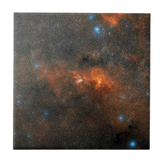 Cúmulo de estrellas abierto de NGC 3603 Azulejo Cuadrado Pequeño