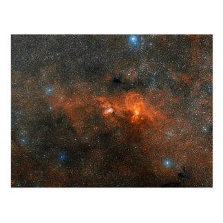 Cúmulo de estrellas abierto de NGC 3603 Tarjeta Postal