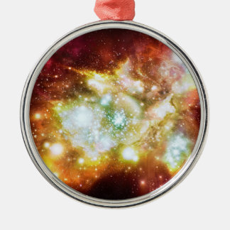 Cúmulo de estrellas caliente y brillante estupendo ornamentos para reyes magos
