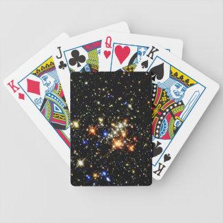 Cúmulo de estrellas baraja cartas de poker