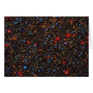 Cúmulo de estrellas Centauri de Omega Tarjeton