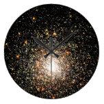 Cúmulo de estrellas de la vía láctea relojes