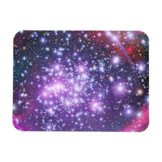 Cúmulo de estrellas de los arcos en sagitario imanes de vinilo