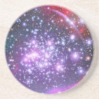 Cúmulo de estrellas de los arcos en sagitario posavasos personalizados