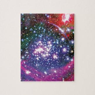 Cúmulo de estrellas de los arcos rompecabezas con fotos