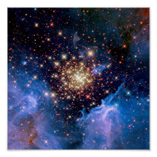 Cúmulo de estrellas de NGC 3603 Impresiones