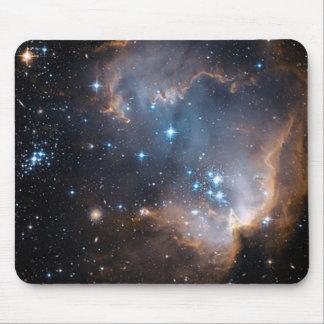 Cúmulo de estrellas del ángel el dormir alfombrillas de raton