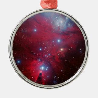 Cúmulo de estrellas del árbol de navidad adorno de reyes