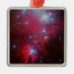 Cúmulo de estrellas del árbol de navidad adorno para reyes