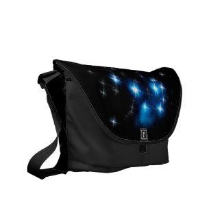 Cúmulo de estrellas del azul de Pleiades Bolsas De Mensajeria