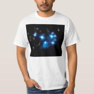Cúmulo de estrellas del azul de Pleiades Playeras