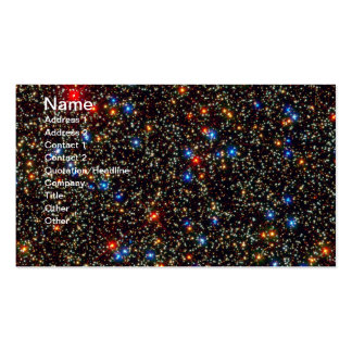 Cúmulo de estrellas gigante Centauri de Omega Tarjetas De Visita