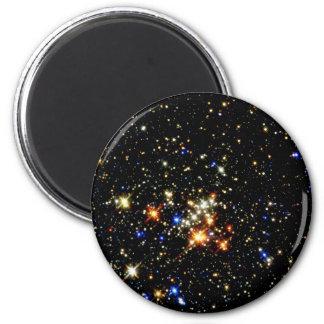 Cúmulo de estrellas imán redondo 5 cm