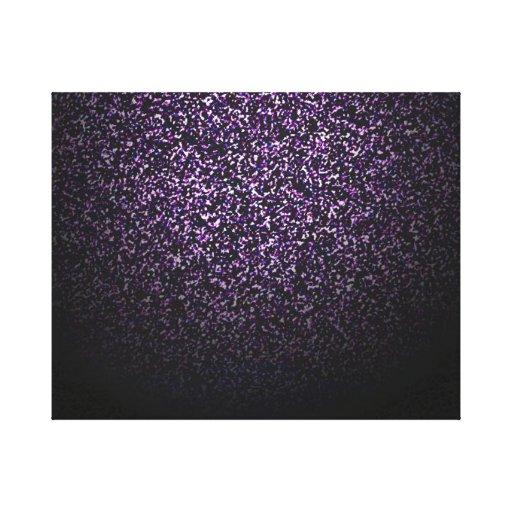 Cúmulo de estrellas impresión en lienzo estirada
