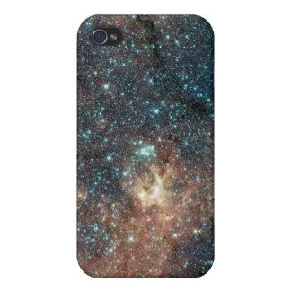 Cúmulo de estrellas masivo iPhone 4 funda