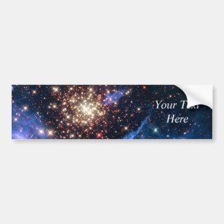 Cúmulo de estrellas NGC 3603 (Hubble) Pegatina De Parachoque