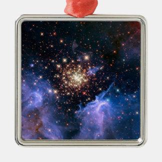 Cúmulo de estrellas NGC 3603 (Hubble) Adornos De Navidad