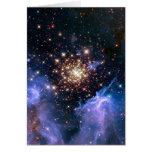 Cúmulo de estrellas NGC 3603 (Hubble) Felicitacion