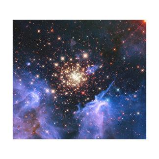 Cúmulo de estrellas NGC 3603 (Hubble) Impresiones De Lienzo
