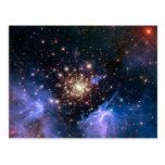Cúmulo de estrellas NGC 3603 (Hubble) Postal