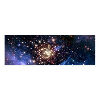 Cúmulo de estrellas NGC 3603 (Hubble) Plantillas De Tarjetas De Visita