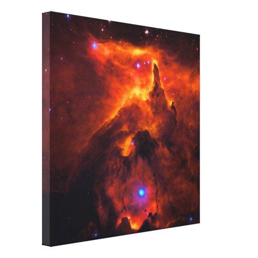 Cúmulo de estrellas Pismis 24, base de NGC 6357 Impresión En Lienzo