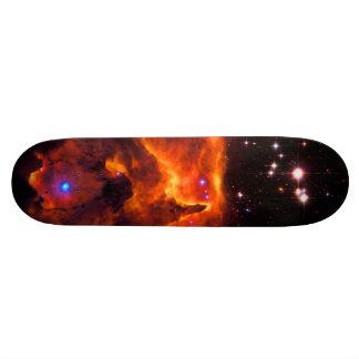 Cúmulo de estrellas Pismis 24, base de NGC 6357 Monopatines